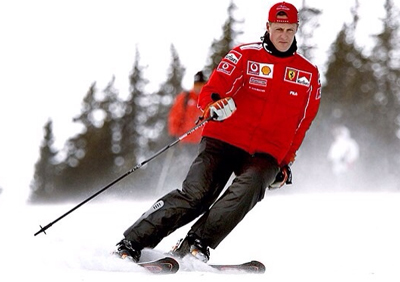 michael schumacher skiing accident