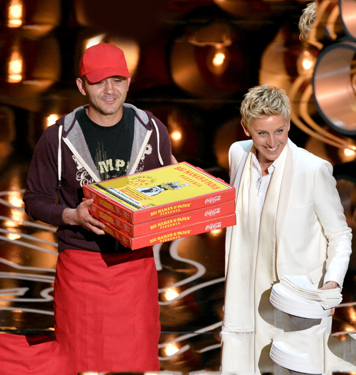 Ellen's Pizza Guy Secret